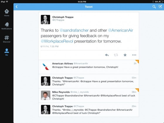 American Airlines presentation