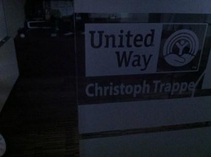 Dark United Way office