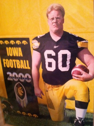 Christoph Trappe former Iowa Hawkeye