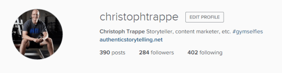 instagram christoph trappe