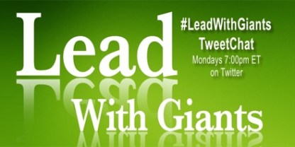#LeadWithGiants Twitter chat
