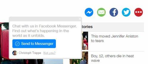 messenger share