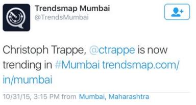 trended in mumbai