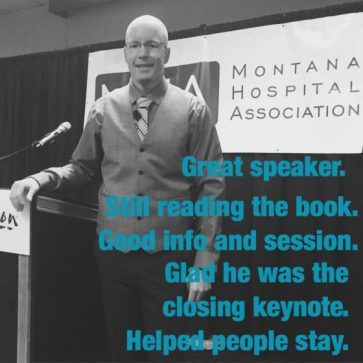 feedback from Montana keynote