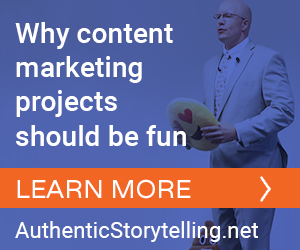 why content marketing projects should be fun