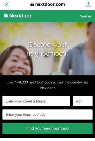 Recommendations on Nextdoor