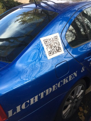 Breaking news: QR codes are still around in late 2017, going into 2018