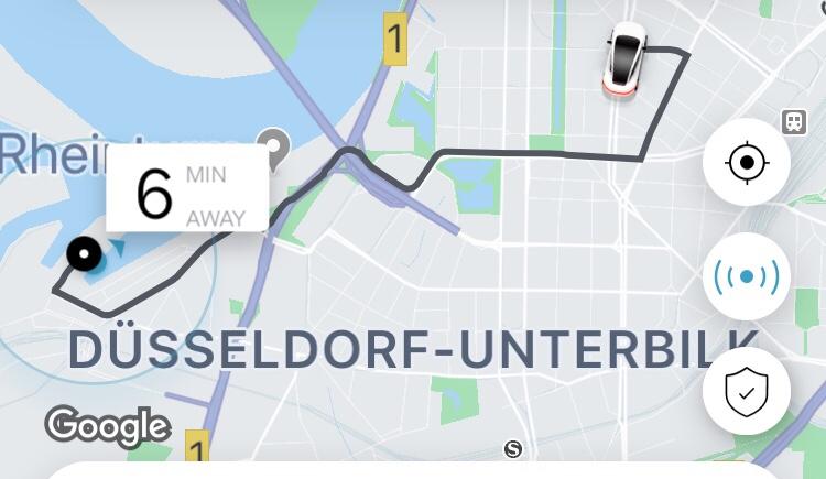 Travel tips] Uber in Germany - Berlin, Düsseldorf, Munich