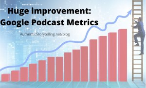 Google Podcast Manager Metrics
