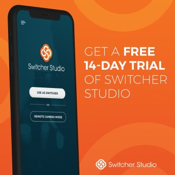 Start livestreaming with Switcher