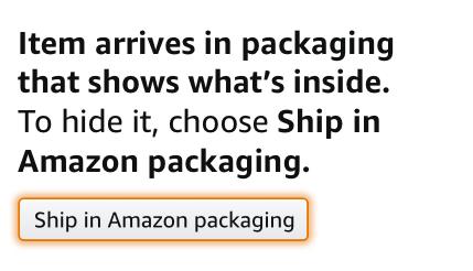 Original packaging warning