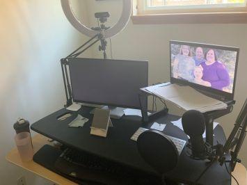 Varidesk setup