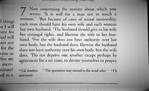 What the bible says about same sex marriage