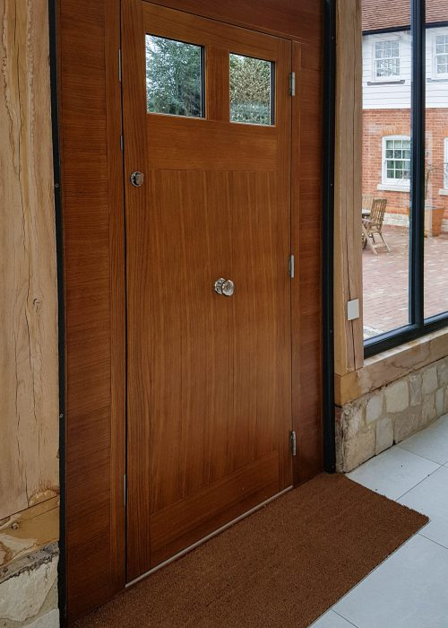 Portsmouth Hardwood Timber Oak Door