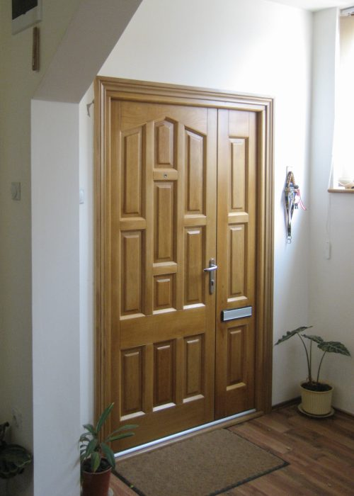 Hardwood Entrance Door Yeovil
