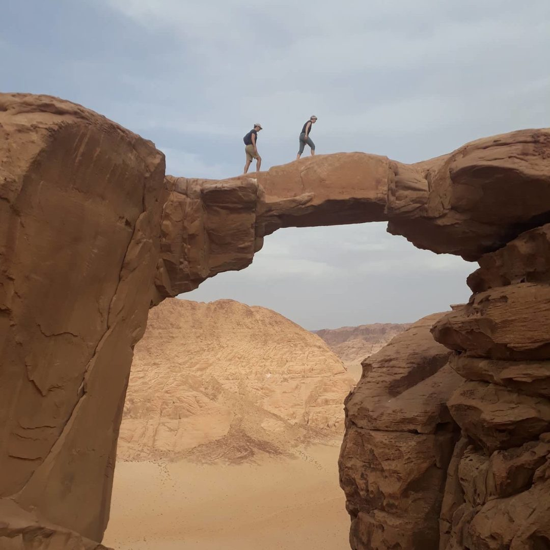 Rock climbing Jordan