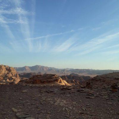 jordan trek in wadi rum desert