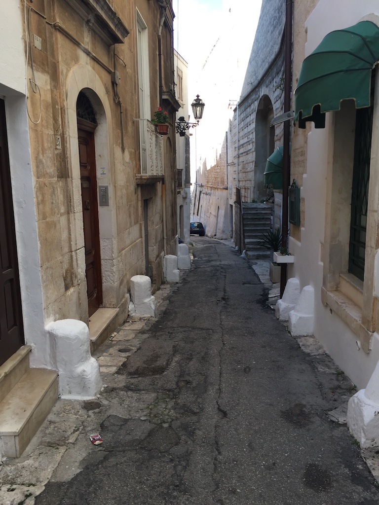 Narrow streets of Ostuni