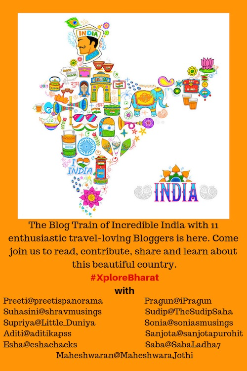 XPloreBharat Blog train