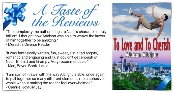 Promo - Reviews - To Love and To Cherish