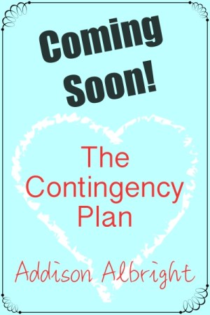 Coming Soon - The Contingency Plan - 400x600