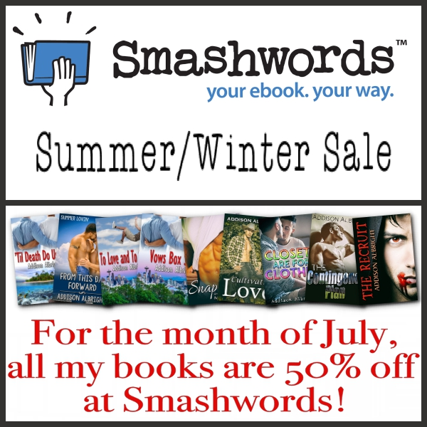 Smashwords Summer:Winter Sale - Summer 2018
