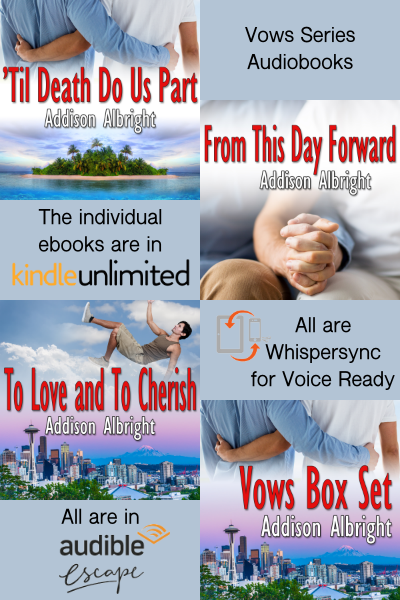 Audiobook Update - Vows Series | Stories That Make You Smile