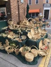 charleston market gullah-made baskets