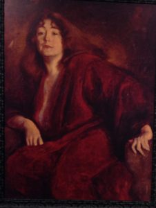 Portrait of Rose O'Neill by Lillian Fiske. Used by permission of Museum.