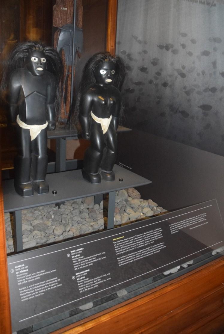 Bishop museum sculptures