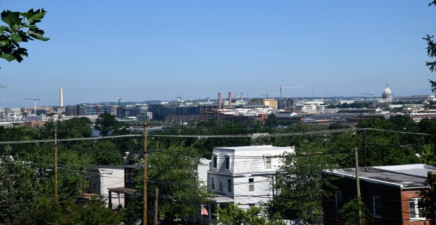 View of the Washington Monument and the Capitol from the Douglass House ©Author Adventures