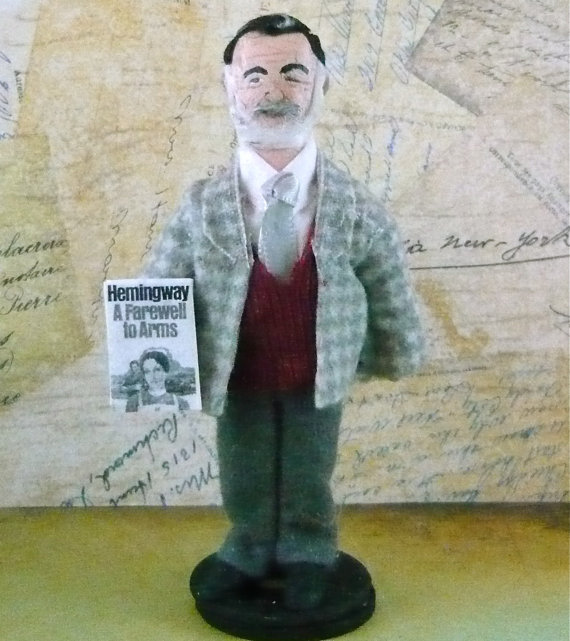 Hemingway Doll, photo courtesy of Uneek Doll Designs
