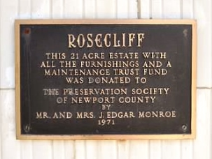 rosecliff sign