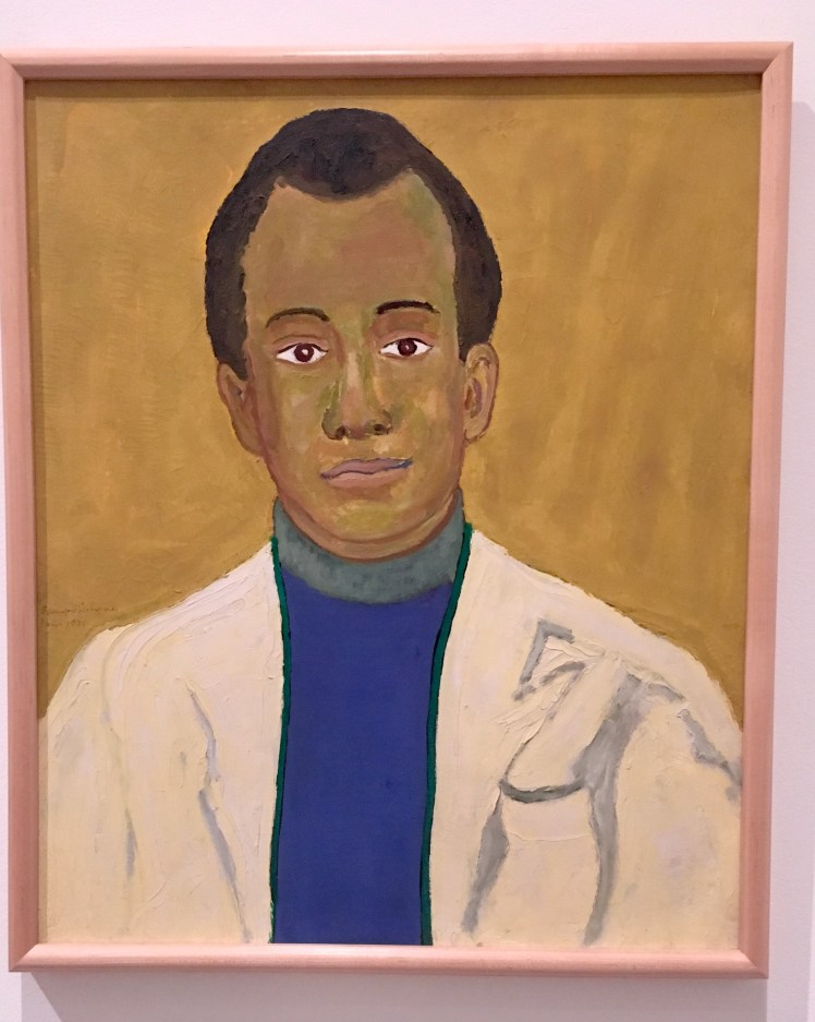 James Baldwin portrait