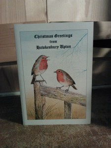 Christmas card from Hawkesbury Upton