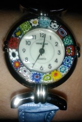 My new millefiori watch