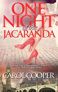 New cover of One Night at the Jacaranda