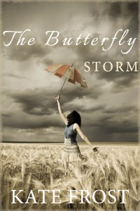 Cover of The Butterfly Storm, a novel by Kate Frost