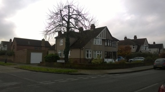 Photo of house in Burnt Oak Lane