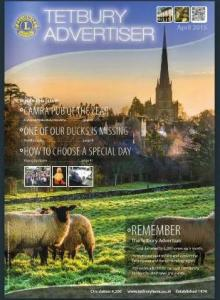 Cover of April Tetbury Advertiser