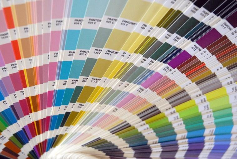 Photo of Pantone colour swatch