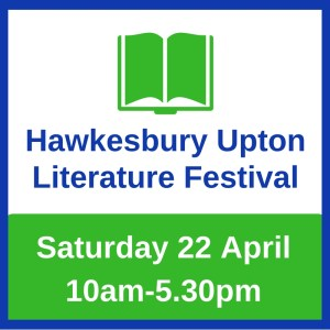 logo giving date of next Hawkesbury Upton Lit Fest