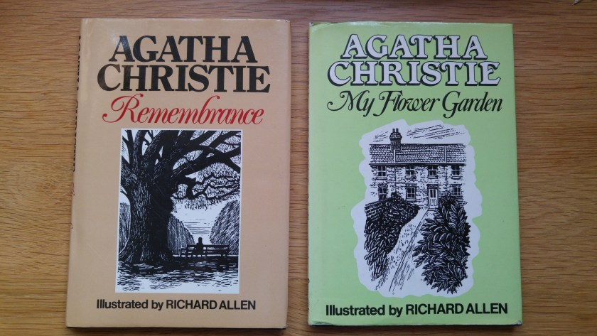 two small Agatha Christie poetry books