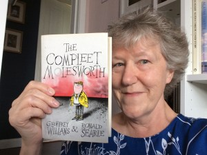 photo of Linda Gillard with The Compleet Molesworth