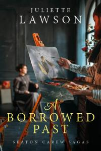 cover of A Borrowed Past by Juliette Lawson