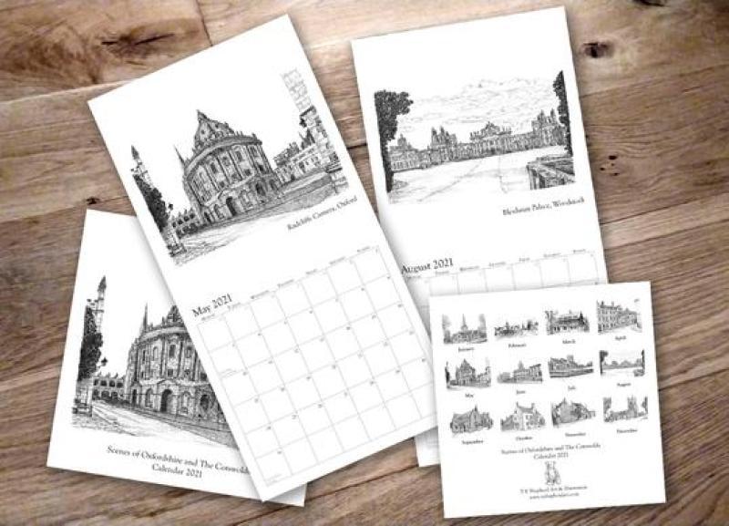 image of T E Shepherd's calendar