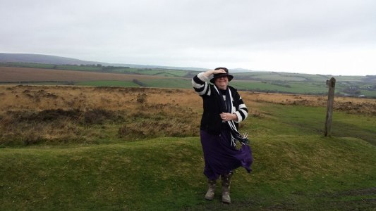 photo of Helen on Exmoor