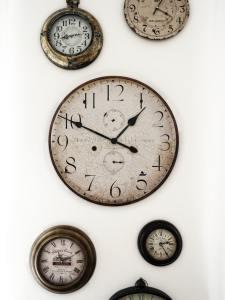image of antique clock faces