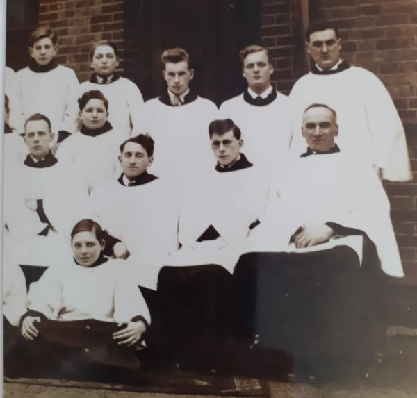 photo of the choir of the Holy Redeemer, Sidcup