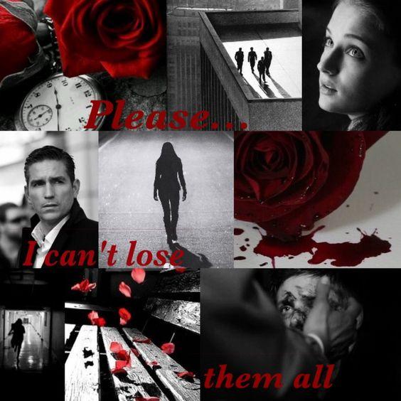 Scarlet Rose collage
